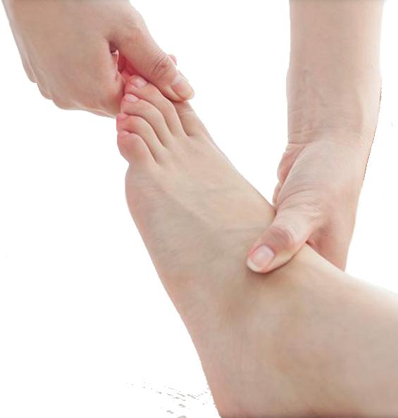 <span>Tratamos</span> todo tipo de afecciones en <span>el pie</span>